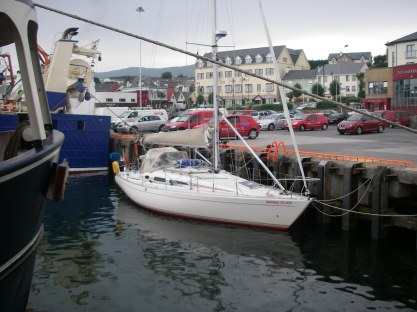 Sprinmg Fever alongside the dock in Killybegs