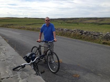 Tony and the bike