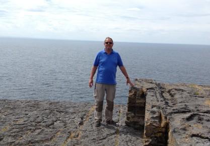 Tony on the edge