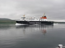 CalMac ferry in the Sound