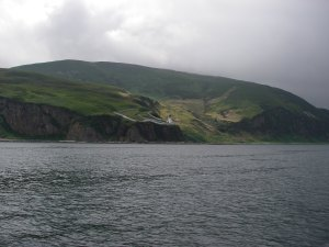 McArthur's Head lighthouse, south end of Sound of Islay