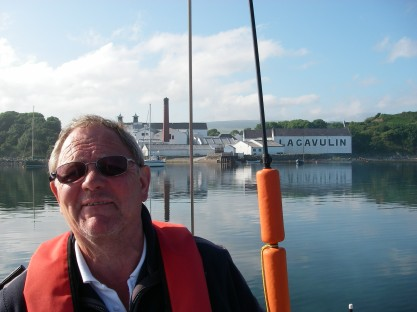 Tony at Lagavulin