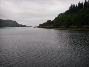 Exit from Loch Feochan