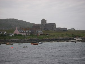 Arriving at Iona