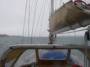 Leaving Schull it was worse outside than it looks from this picture.