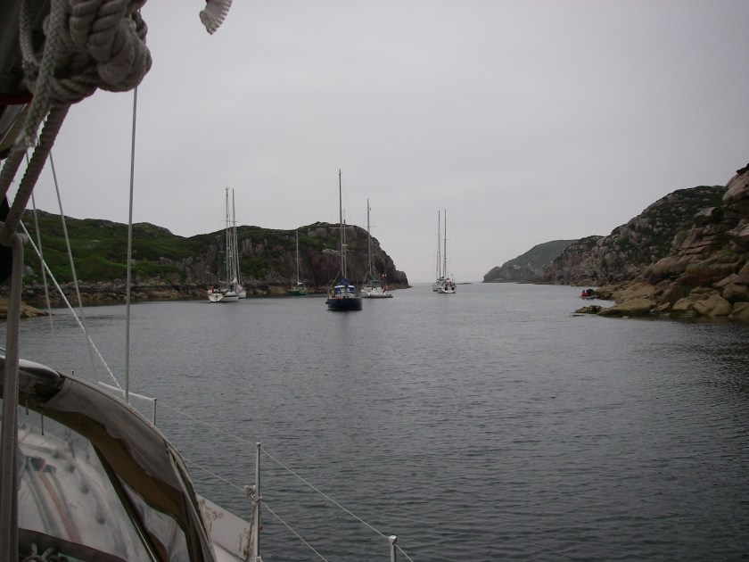 Anchored in Tinker's Hole
