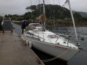 Loading the boat At Ardoran