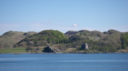 Across the loch from Crinan