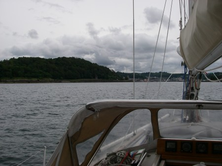 About to enter Oban Bay (2)