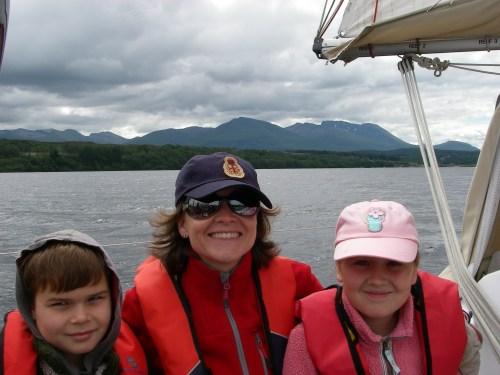 Cruising down Loch Lochy