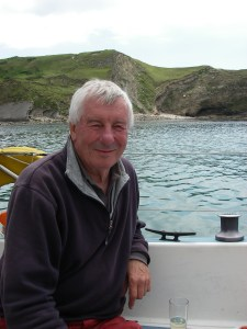 David Fairhall in Lulworth Cove
