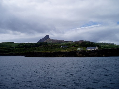 The anchorage at Eigg