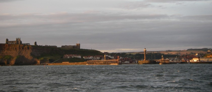 leaving Whitby