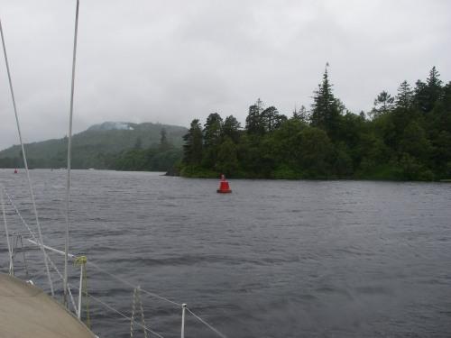 Loch Oich, raining still