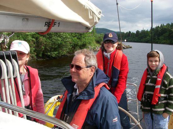 Nearing Loch Ness