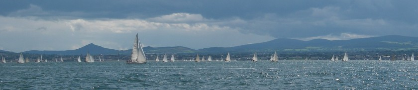 Racing in Dublin Bay