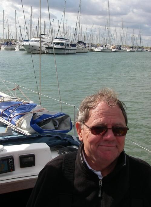 Tony in Titchmarsh Marina