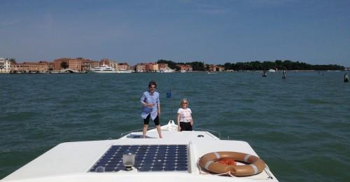 Approaching Venice