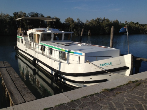 Caorle, our 15 metre barge