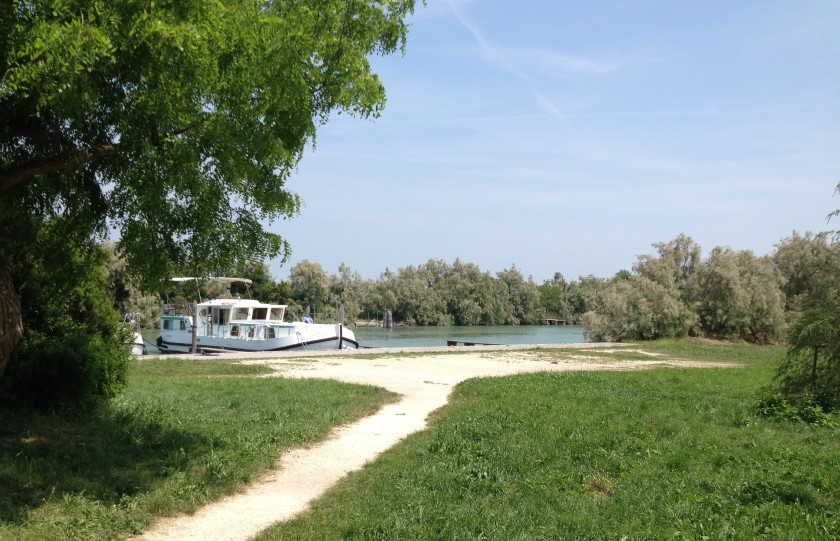 The mooring on Torcello
