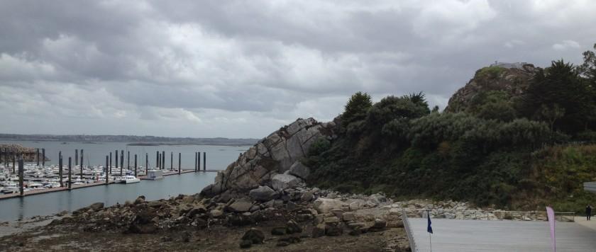 The marina at Roscoff