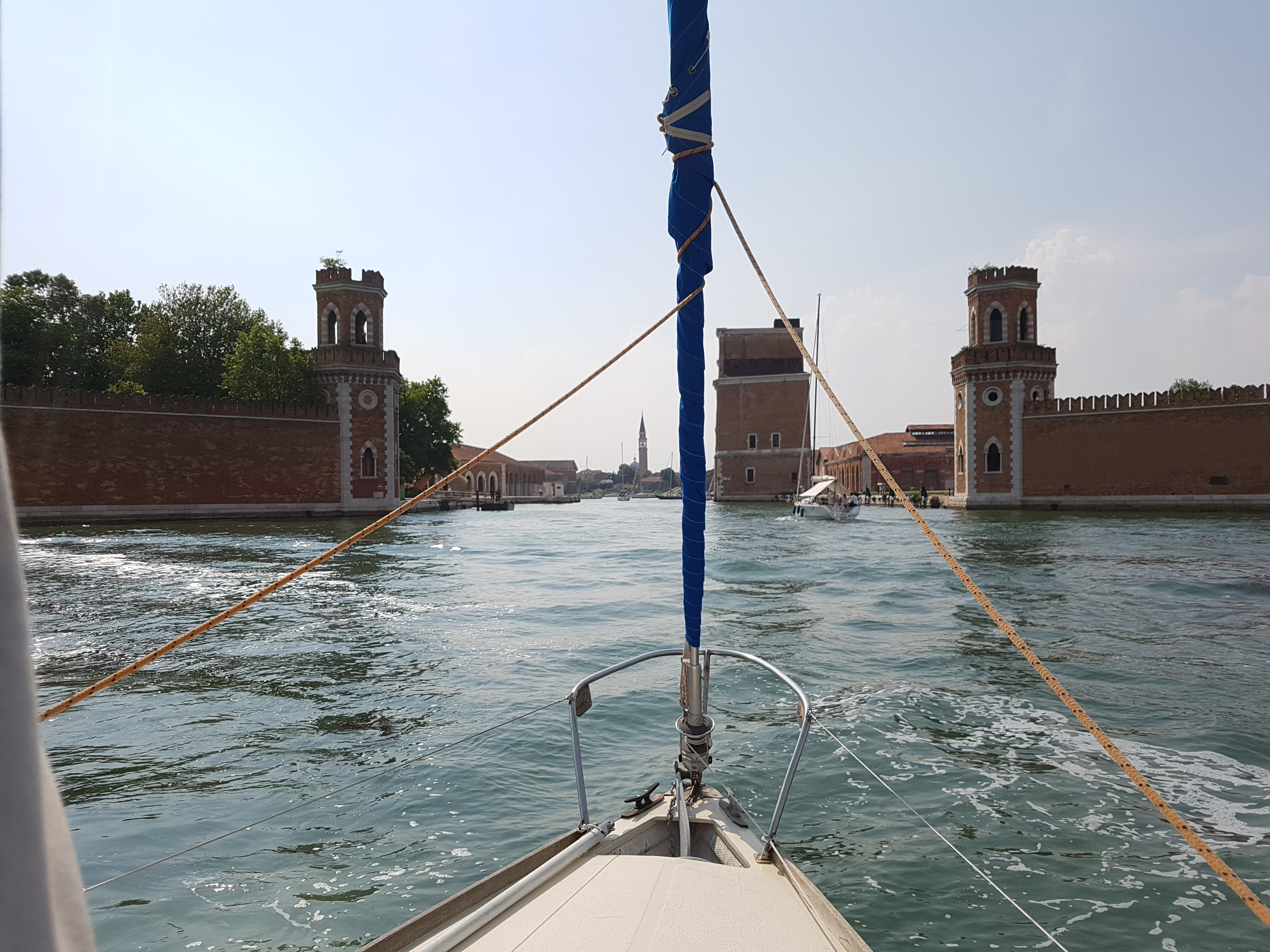 Tide by tide exploring by boat spiuma entering the arsenale nvjuhfo Choice Image