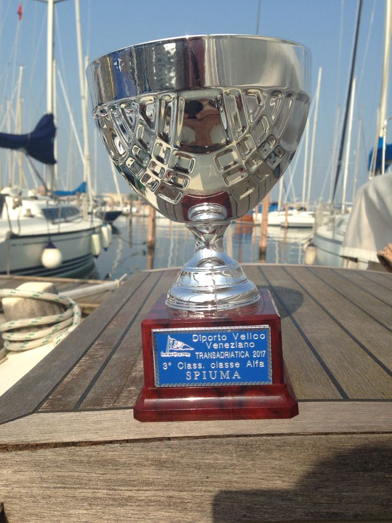 Tide by tide exploring by boat martin walker received the cup for the race which was actually last june at the annual dinner last month of his club diporto velico veneziano nvjuhfo Choice Image
